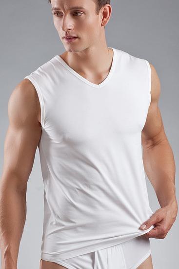 Abbildung zu Muskelshirt (46037) der Marke Mey aus der Serie Dry Cotton