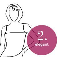 BHs für Kleider mit geradem Auschnitt