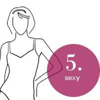 Unsichtbare/glatte BHs für figurbetonte Hochzeitskleider