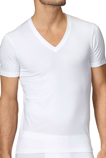 Abbildung zu T-Shirt, V-Ausschnitt (14317) der Marke Calida aus der Serie Evolution