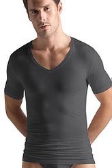 HanroCotton SuperiorShirt, V-Ausschnitt
