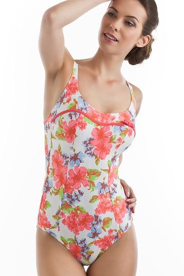 Abbildung zu Badeanzug, extra Halt (FBA9234) der Marke Antigel aus der Serie La Vintage Flower