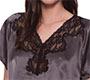 Aubade Damen Nachtwäsche Nachtshirt