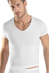 HanroMicro TouchShirt, V-Ausschnitt