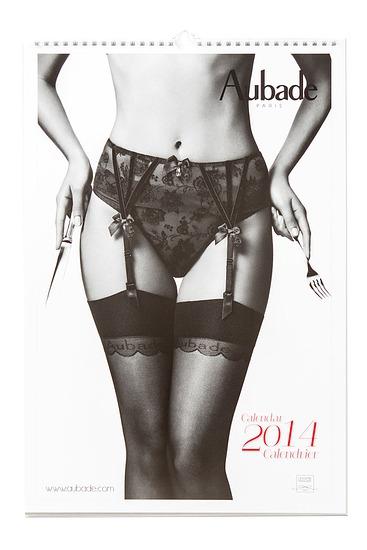 Abbildung zu Aubade Kalender 2014 (2014) der Marke Aubade aus der Serie Kalender