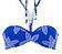 Vorderansicht zu Bandeau-Bikini-Oberteil ( EBA7165 ) der Marke Antigel aus der Serie La Caraibe Girl