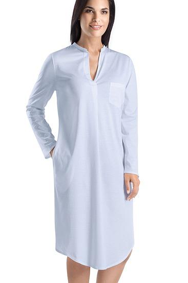 Abbildung zu Nachthemd, langarm (077957) der Marke Hanro aus der Serie Cotton Deluxe