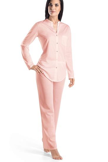 Abbildung zu Pyjama, lang (077956) der Marke Hanro aus der Serie Cotton Deluxe