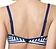 Rückansicht zu Bandeau-Bikini-Oberteil ( CW0063 ) der Marke Cleo aus der Serie Lucille