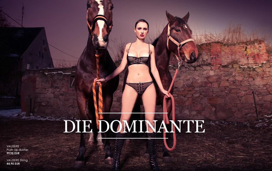 Die Dominante - sexy Dessous für gewisse Stunden