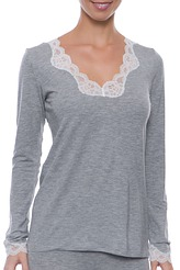 Antigel�Simply Perfect Loungewear�Shirt, langarm