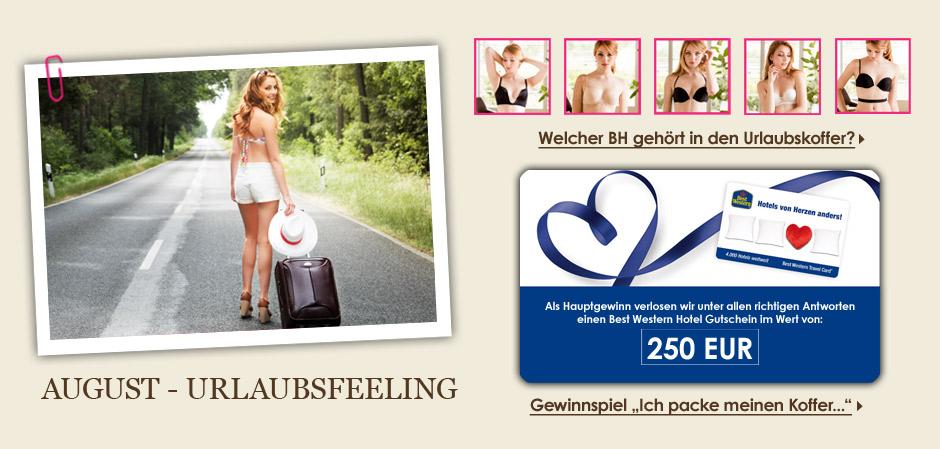 Augustkampagne - Urlaubsfeeling