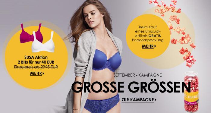 September Kampagne - Gro�e Gr��en