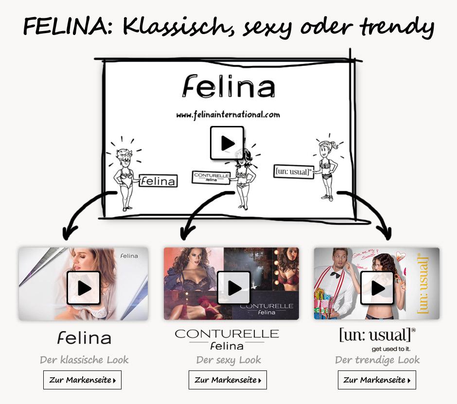 Felina - eine vielseitige Dessousmarke stellt sich vor