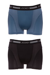 Jockey�Sport Microfiber Active�Shorts, 2-Pack