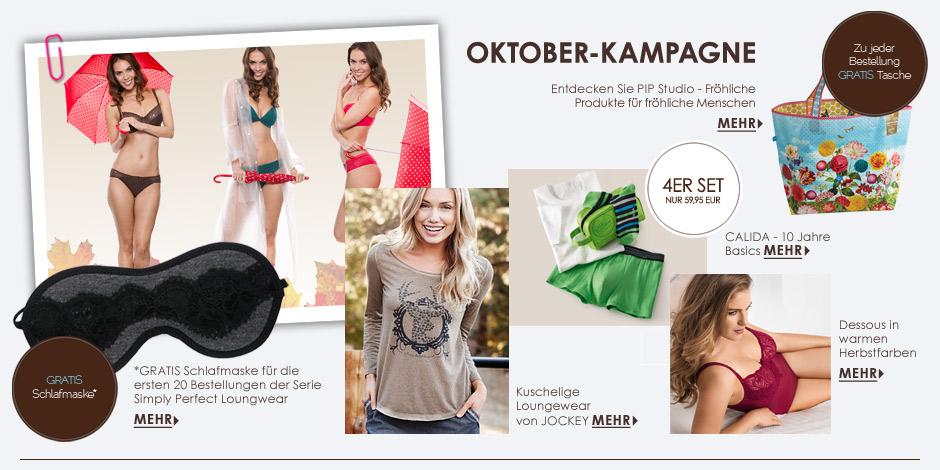 Oktober Kampagne - Herbstzeit