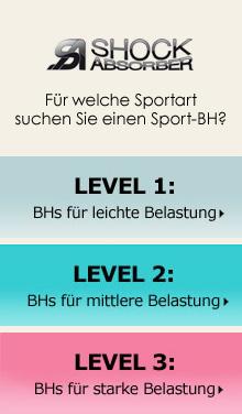 Sport-BHs von ShockAbsorber