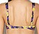 Rückansicht zu Halbschalen-Bikini-Oberteil, Horizontalnaht ( AJ15 ) der Marke Aubade aus der Serie Songe Tropical
