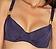 Vorderansicht zu Halbschalen-Bikini-Oberteil, Horizontalnaht ( AK15 ) der Marke Aubade aus der Serie Esprit Sauvage