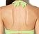 Rückansicht zu Push-Up-Bikini-Oberteil, Schalenform ( AK08 ) der Marke Aubade aus der Serie Esprit Sauvage