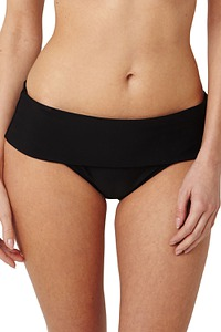 Bikini Slip, umschlagbarer Bund