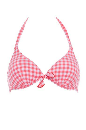 Abbildung zu Triangel-Bikini-Oberteil, Push-up (EBA2885) der Marke Antigel aus der Serie La Vamp Vichy
