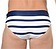 Rückansicht zu Swim Mini Briefs ( 10150148 ) der Marke HOM aus der Serie Sport Chic - Calvi