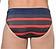 Rückansicht zu Swim Mini Briefs 01 ( 10150149 ) der Marke HOM aus der Serie Sport Chic - Calvi