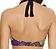 Rückansicht zu Neckholder-Bikini-Oberteil m. Bügel ( AS3083 ) der Marke Freya aus der Serie Byzantine
