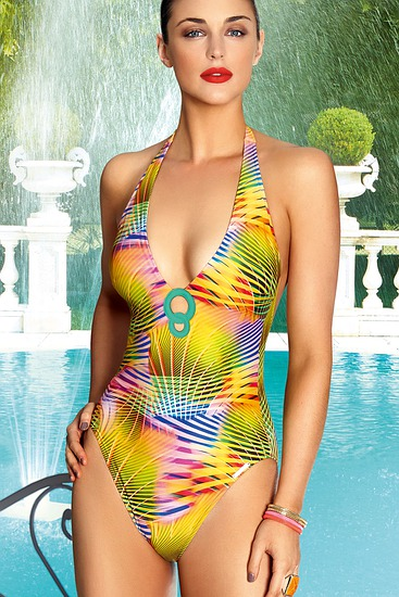 Abbildung zu Badeanzug (ABA9206) der Marke Lise Charmel aus der Serie Irisation Tropical