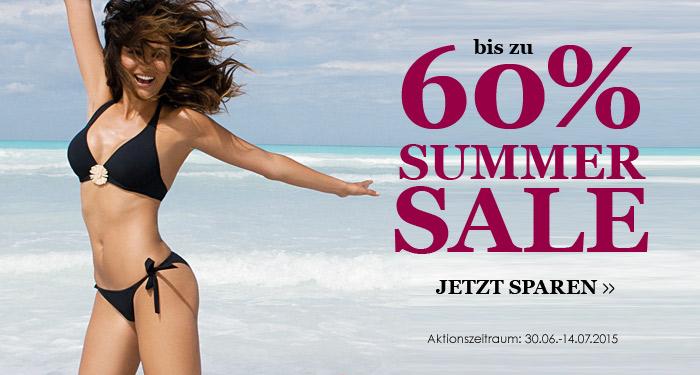 Summer Sale bis 60%