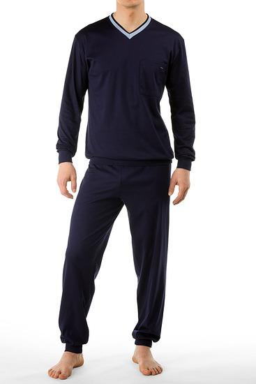 Abbildung zu Pyjama mit Bündchen (43262) der Marke Calida aus der Serie Chill Out