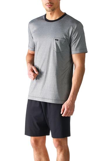 Abbildung zu Pyjama kurz, Rundhals (24770) der Marke Mey Herrenwäsche aus der Serie Night Basic