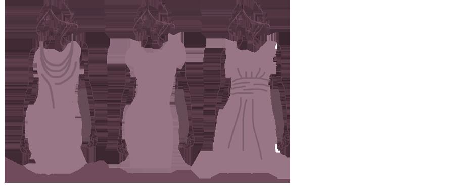 vorteilhafte Kleiderarten für kleine Brüste