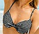 Vorderansicht zu Bikini-Oberteil Paulina Stripe ( L6 8726-1 ) der Marke Rosa Faia aus der Serie Treasure Island
