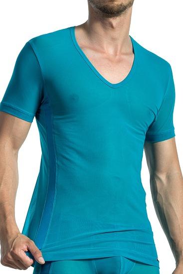 Abbildung zu T-Shirt, V-Ausschnitt (107279) der Marke Olaf Benz aus der Serie Red 1565