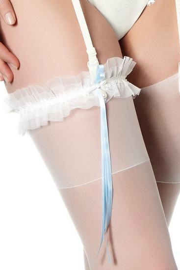 Abbildung zu Strumpfband (12B801) der Marke Simone Perele aus der Serie Wish