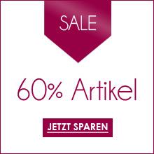 Damen-Artikel mit 60% Rabatt