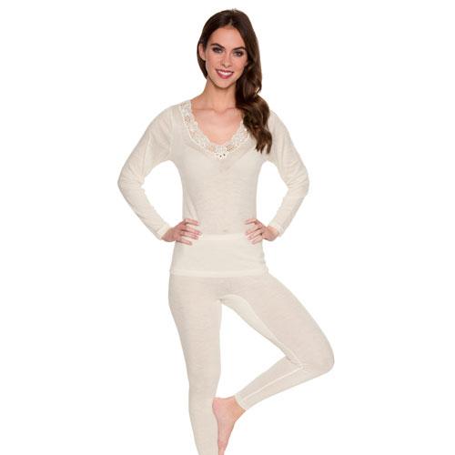 Abbildung zu Leggings (s7960771) der Marke Sangora aus der Serie Schurwolle/Modal