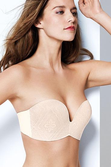 Abbildung zu Zauberhand-BH, Spitze (8650) der Marke Wonderbra aus der Serie Perfect Strapless Lace