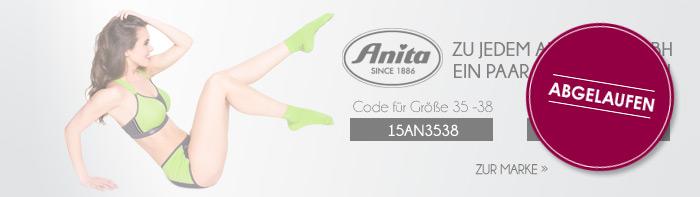 Gratis-Socken zu jedem Sport-BH von Anita - abgelaufen