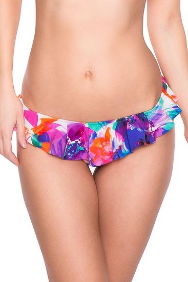Abbildung zu Bikini-Slip mit R�schen (895111) der Marke Watercult aus der Serie Floral Twist