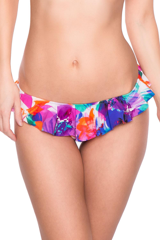 watercult bikini slip mit r schen 895111 sunny dessous. Black Bedroom Furniture Sets. Home Design Ideas