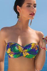 Lise CharmelOiseaux BaliBandeau-Bikini-Oberteil