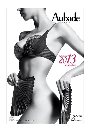 Abbildung zu Aubade Kalender 2013 (2013) der Marke Aubade aus der Serie Kalender
