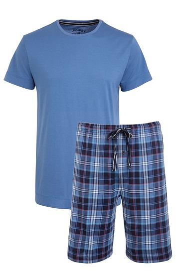 Abbildung zu Pyjama kurz, star blue (500001) der Marke Jockey aus der Serie Loungewear by Jockey