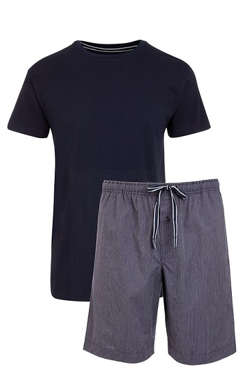 Abbildung zu Pyjama kurz navy (500202) der Marke Jockey aus der Serie Loungewear by Jockey