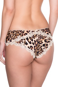 Damen Panty im Leoparden-Look