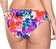R�ckansicht zu Bikini-Slip mit R�schen ( 895111 ) der Marke Watercult aus der Serie Floral Twist