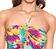 Vorderansicht zu Badeanzug, Bandeau-Form ( ABA9776B ) der Marke Lise Charmel aus der Serie Oiseaux Bali